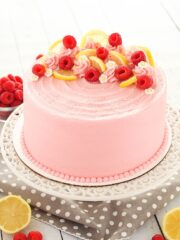 full image of Lemon Raspberry Layer Cake