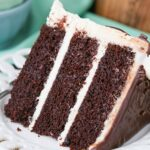 slice of Baileys Chocolate Layer Cake