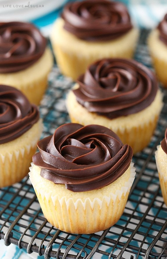 Homemade Boston Cream Pie Cupcakes
