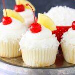 image of Pina Colada Cupcakes