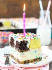 Image of Ultimate Birthday Cake with candle