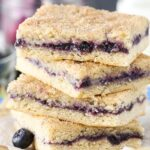 Blueberry Jam Cake Bars