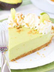 Avocado Key Lime Pie Image