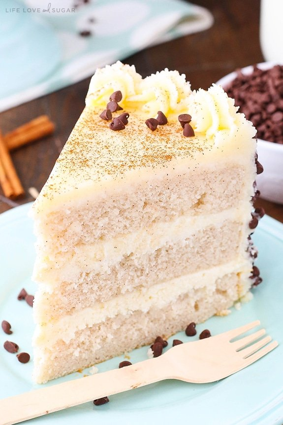 Cannoli Layer Cake Life Love and Sugar