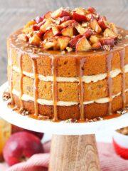 full image of Caramel Apple Pecan Layer Cake