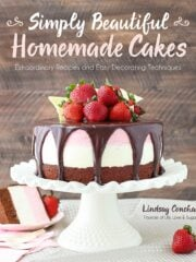 Here's my new cookbook, Simply Beautiful Homemade Cakes, available now for pre-order!