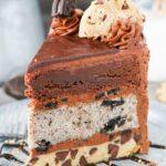 Oreo Brookie Layer Cake