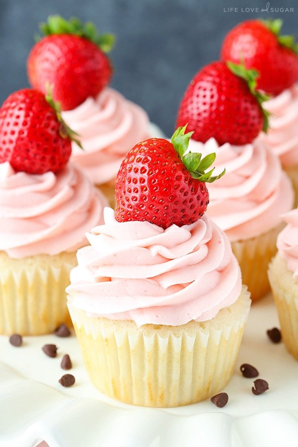 Best Neapolitan Cupcakes