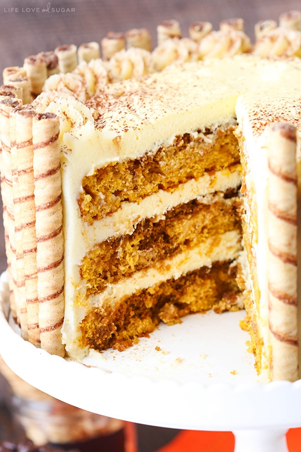pumpkin layer cake pumpkin tiramisu layer cake and sugar 6856