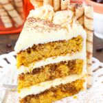 image of Pumpkin Tiramisu Layer Cake