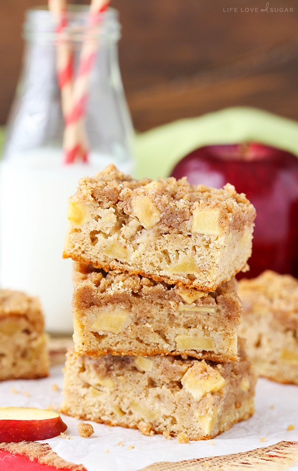 Apple Streusel Bars recipe