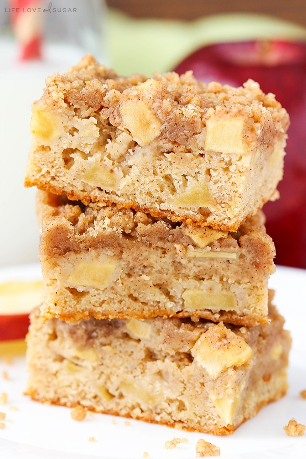 Best moist Apple Streusel Bars recipe