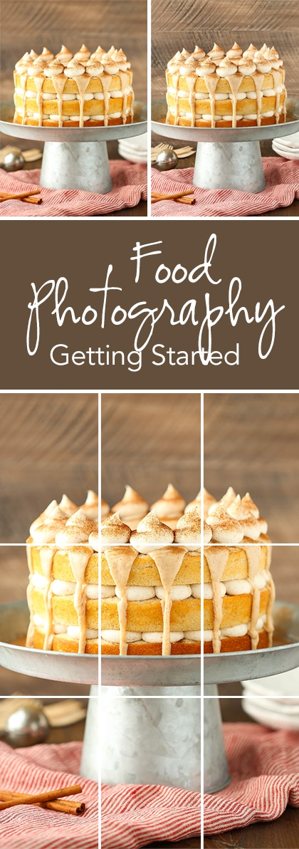 Getting Started with Food Photography - the basics of equipment, using your DSLR camera and composition