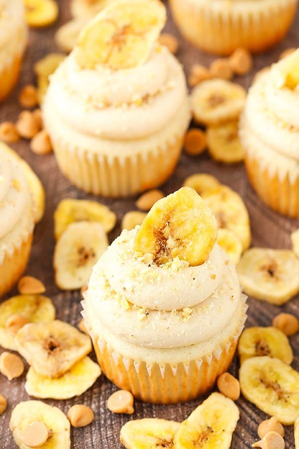 Best Peanut Butter Banana Cupcakes