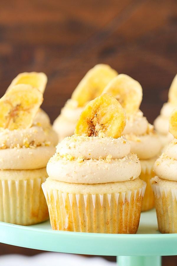 Peanut Butter Banana Cupcakes Life Love And Sugar