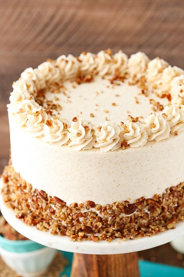 Brown Butter Pecan Layer Cake