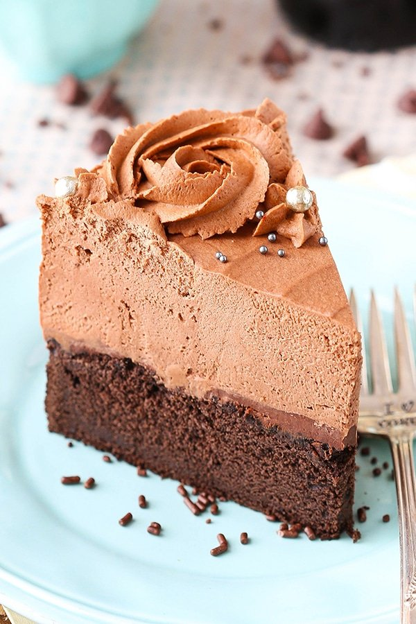 Guinness Chocolate Mousse Cake - from the cookbook Simple Beautiful Homemade Cakes! So good!