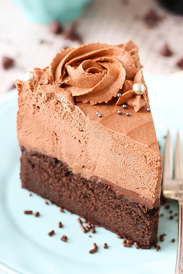 Easy Homemade Chocolate Mousse Cake