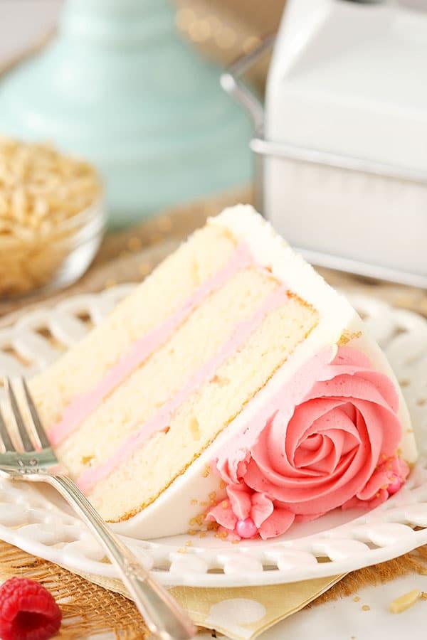 Best Raspberry Almond Layer Cake recipe