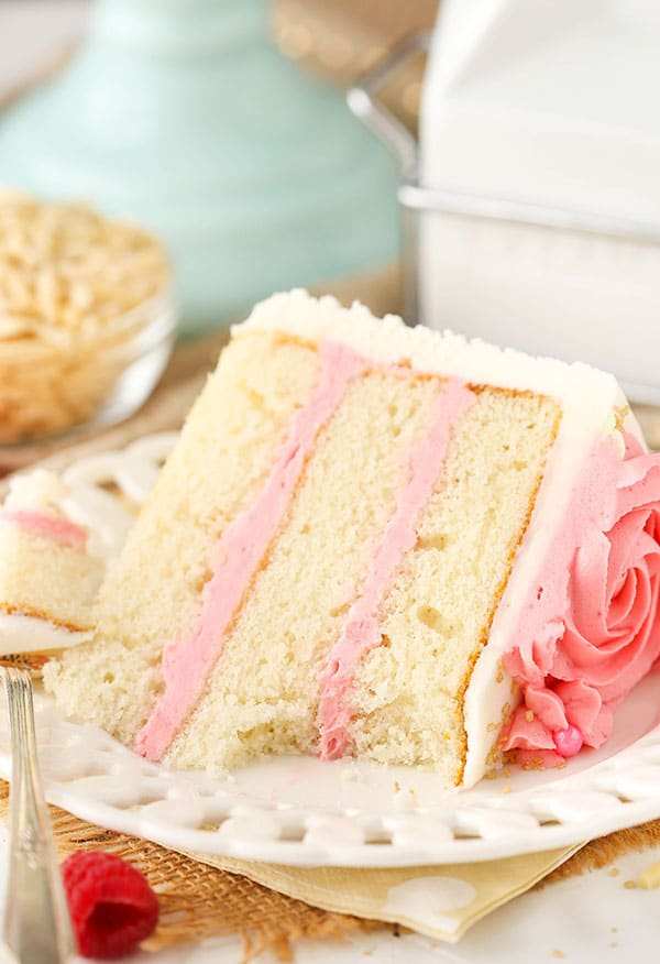 Raspberry Almond Layer Cake Life Love And Sugar