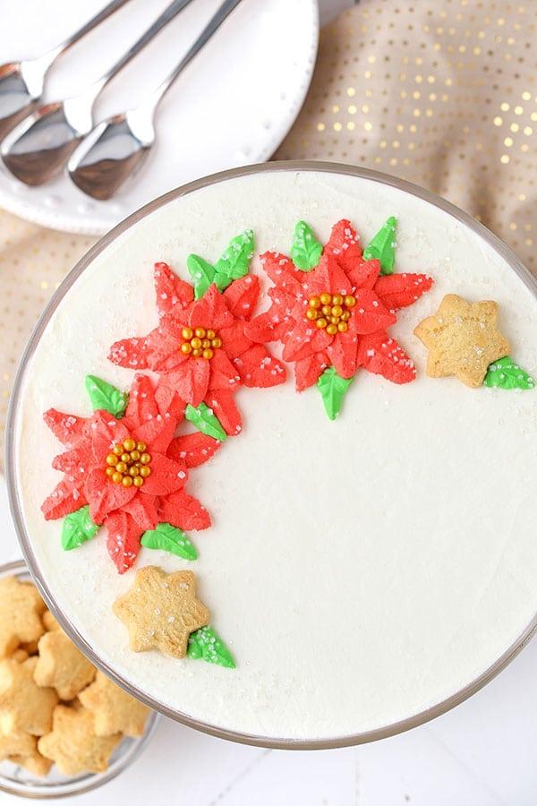Red Velvet Shortbread Trifle recipe
