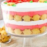 Red Velvet Cheesecake Shortbread Trifle