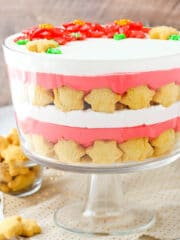 full image of Red Velvet Cheesecake Shortbread Trifle