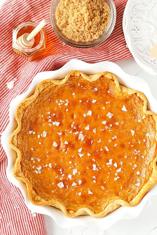 Best custard pie - Salted Honey Pie