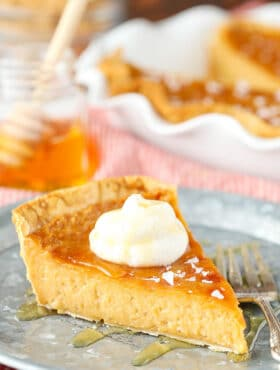 Image of Salted Honey Pie