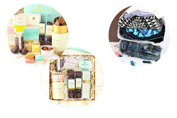 Holiday Gift Guide for Bakers collage of gifts