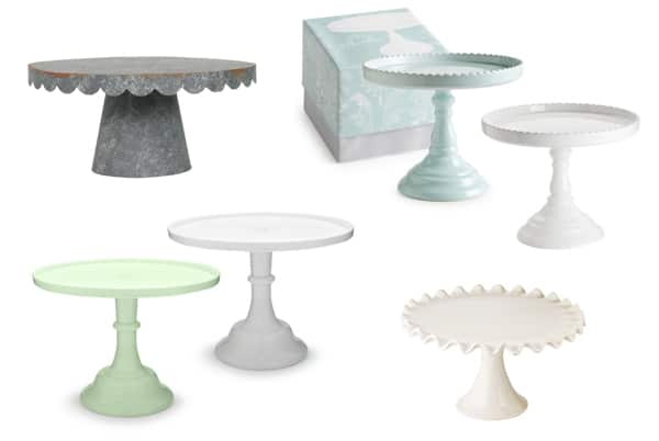 Holiday Gift Guide for Bakers cake stands