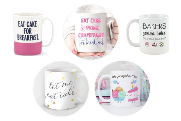 Holiday Gift Guide for Bakers coffee mugs