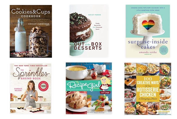 Holiday Gift Guide for Bakers - lots of great cookbooks!