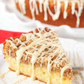 Image of Eggnog Crumb Cake
