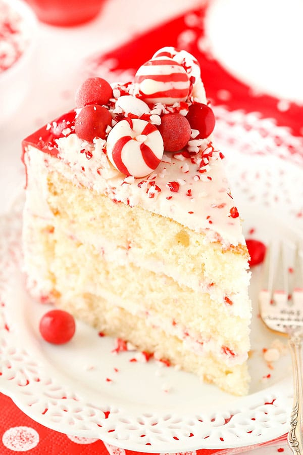 Best Peppermint Chip Layer Cake