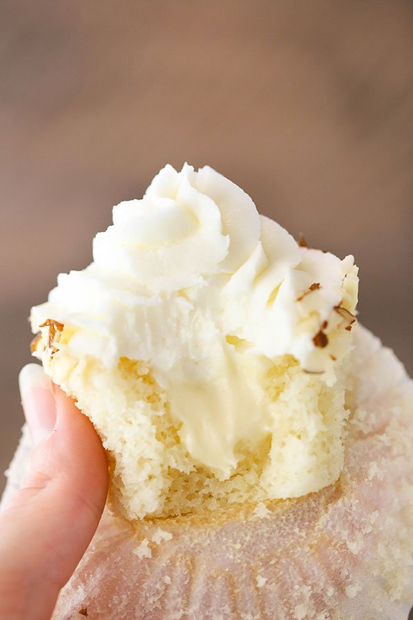 Favorite Almond Amaretto Cupcakes recipe