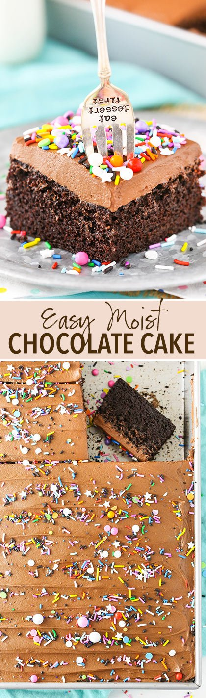How to make the perfect moist chocolate cake