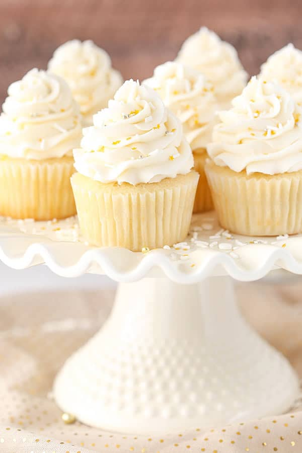 recipe for 30 vanilla cupcakes