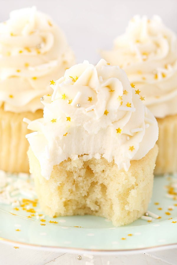 recipe for 50 vanilla cupcakes