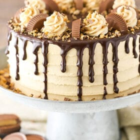 full image of Peanut Butter Chocolate Layer Cake