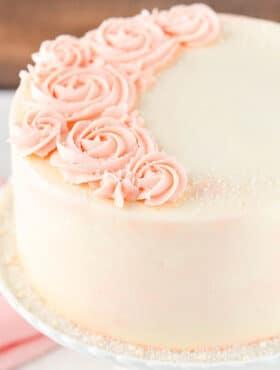 full image of Rose Water Vanilla Layer Cake
