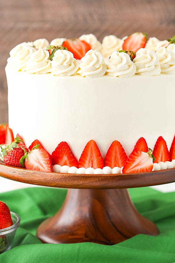Cream Cheese Icing Recipe For Strawberry Cake