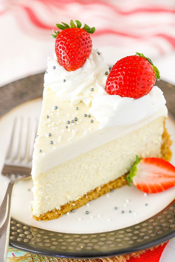 Easy Vanilla Bean Cheesecake