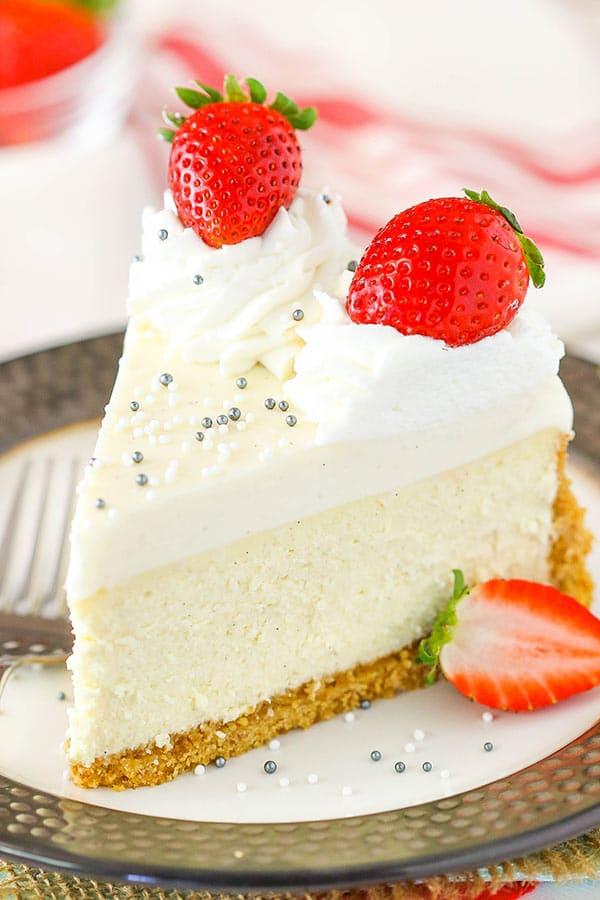 Vanilla Bean Cheesecake Recipe Best Vanilla Dessert Recipe