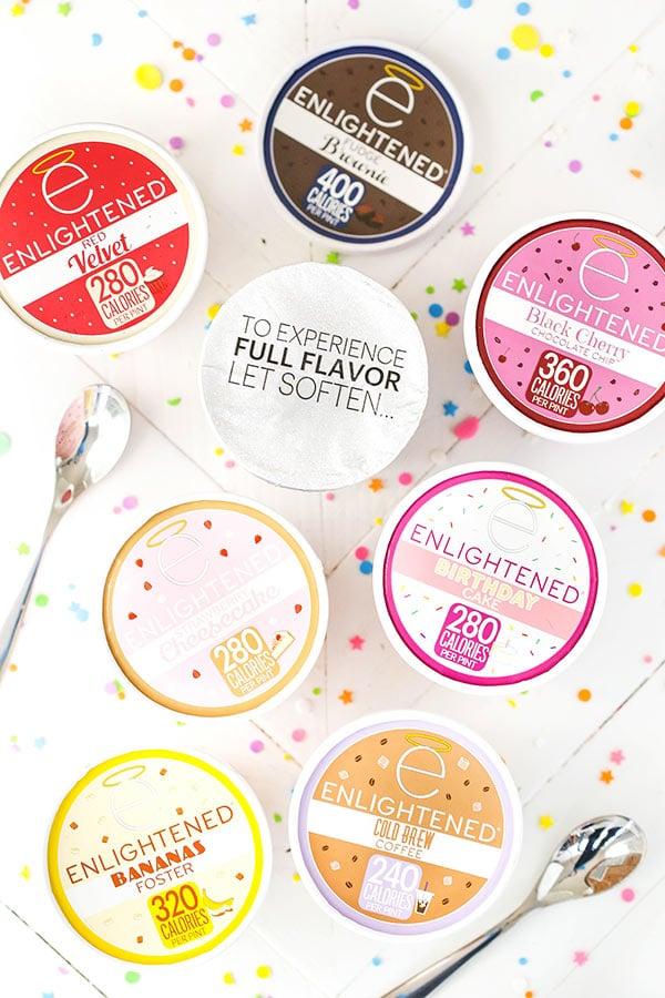 New ENLIGHTENED Ice Cream Flavors!
