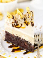 image of Banana Mocha Chocolate Ice Cream Cake