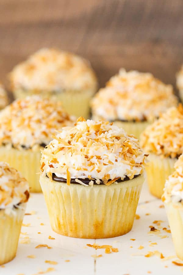 Coconut Macaroon Cupcakes recipe