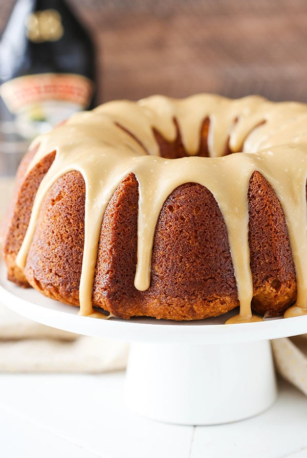 Best ever Caramel Baileys Pound Cake recipe