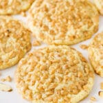 Gluten Free Toffee Almond Cookies