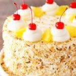 Pina Colada Layer Cake